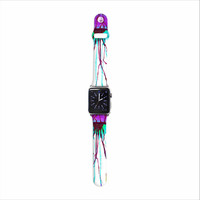 "Ivan Joh ""Jellyfish"" Purple Aqua Apple Watch Strap"