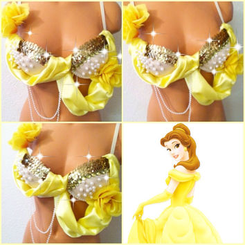 Princess Belle Bra