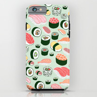 Sushi Love iPhone & iPod Case by Kristin Nohe
