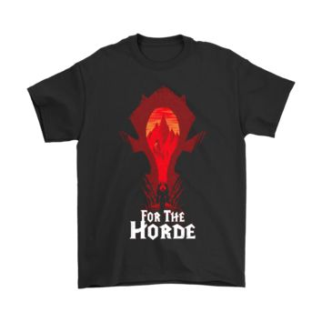 ESB3CR World Of Warcraft For The Horde Shirts