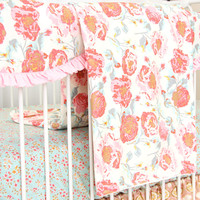 Baby Blanket | Felicity's Floral Crib Bedding