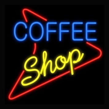 Coffee Shop Neon Sign