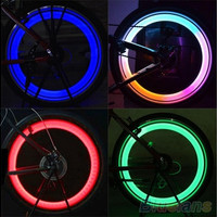 Safety Bright Bike Bicycle Cycling Car Wheel Tire Tyre LED Spoke Light Lamp [8045590023]