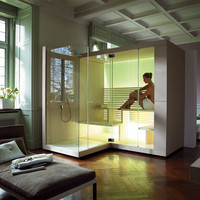 Sauna with shower INIPI Inipi Collection by DURAVIT Italia | design EOOS