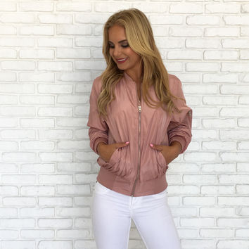 Warmer Than Before Blush Pink Jacket