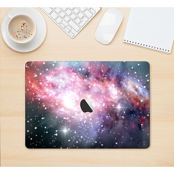 "The Colorful Neon Space Nebula Skin Kit for the 12"" Apple MacBook"