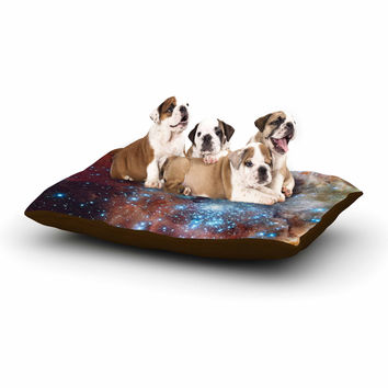 "Suzanne Carter ""Star Cluster"" Blue Space Dog Bed"