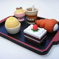 Japanese Erasers - SERVING TRAY BLACK LACQUER