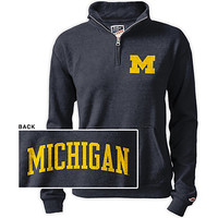 University of Michigan Women's 1/2 Zip Top