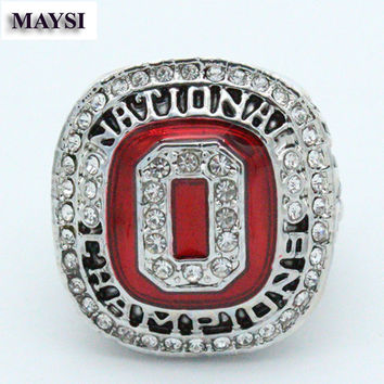 2014 OSU Ohio State Buckeyes National Fans Ring Championship Ring us size 11 champion rings Sol