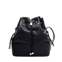BUCKET BAG WITH METAL DETAILING - Coats - Woman | ZARA United States