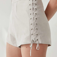 SIR the label Cali Lace-Up Short | Urban Outfitters