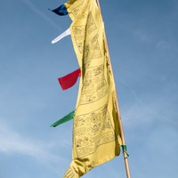 Solid Vertical Prayer Flags