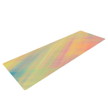"Ingrid Beddoes ""Pastel Abstract"" Yoga Mat"