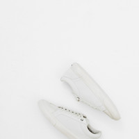 Totokaelo - Sisii White Athletic Low Top Suede Sneaker - $228.00