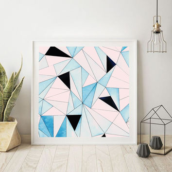 Geometric Washout #society6 #decor #buyart by 83 Oranges™