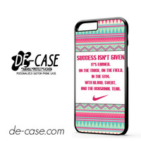 Nike Aztec Quote DEAL-7770 Apple Phonecase Cover For Iphone 6 / 6S