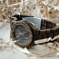 Wood sunglasses and wood watches. Feel the Nature! by CityWolfLT