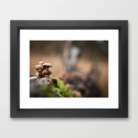 We Are Not Afraid Framed Art Print by Daniel Fornies