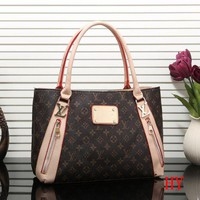 Louis Vuitton New Fashion Women Leather Satchel Shoulder Bag Handbag