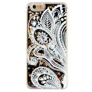 Unique Quicksand Twinkle Lace Bandanna Case Cover for iPhone 5s 5se 6 6s Plus Free Gift Box 47
