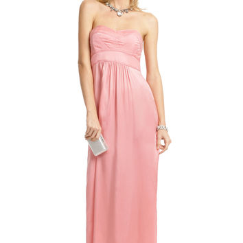 Twelfth Street by Cynthia Vincent Pink Rose Petal Gown