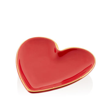 Heart Shaped Ring Dish - Bouquet Collection | Henri Bendel