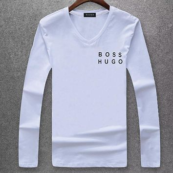 Boys & Men Hugo Boss Fashion Casual Top Sweater Pullover