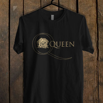 Queen Band Logo T Shirt Mens T Shirt and Womens T Shirt *