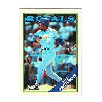 1988 Topps Bo Jackson #750 2nd Year Card, Royals, Grade 9.1 MINT