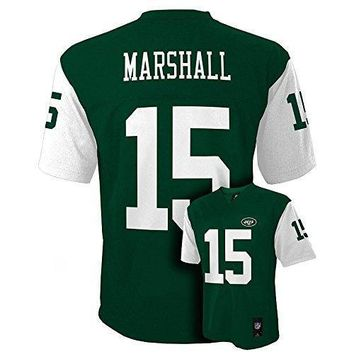 Brandon Marshall New York Jets #15 Nfl Youth Mid Tier Jersey Green