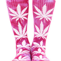 LAVENDER/PURPLE TIE DYE PLANTLIFE SOCK