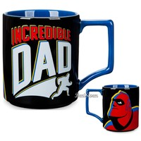 Licensed cool Disney Store Incredibles 2 ''Incredible Dad'' Mug 12 oz Ceramic Coffee Cup NEW