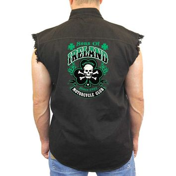 Men's Sons of Ireland Motorcycle Club Long Sleeve shirt