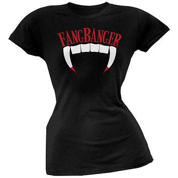 Halloween Fang Banger Juniors T-Shirt