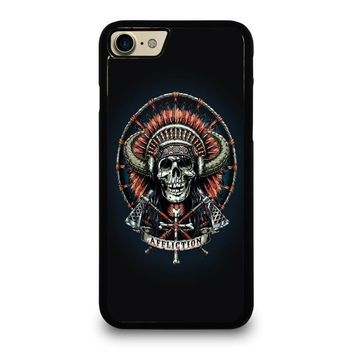 affliction indian skull case for iphone ipod samsung galaxy  number 3