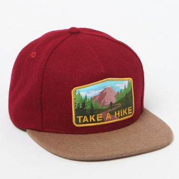 Skate Mental Take A Hike Snapback Hat - Mens Backpack - Red - One