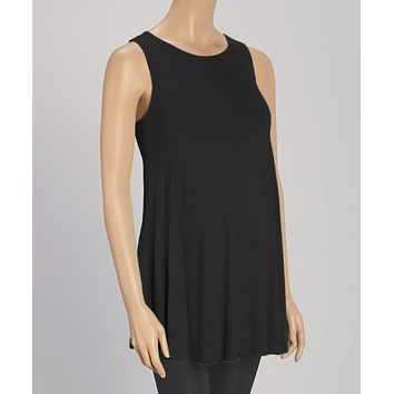 Caroline Sweep Maternity Tunic Tank Top
