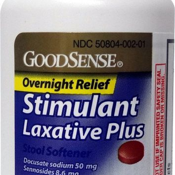 Goodsense® Goodsense&Reg; Overnight Relief Stimulant Laxative Plus(Pack Of 24)