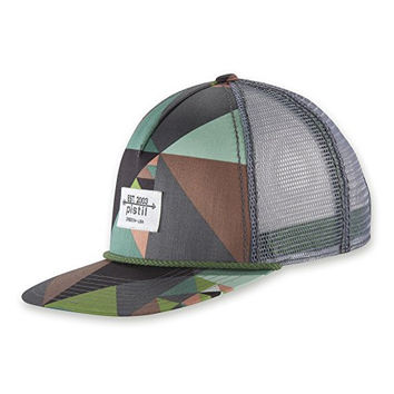 PISTIL Designs Men's Duke Hat, Graphite, One Size