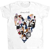 Strong As Hell -- Women's T-Shirt