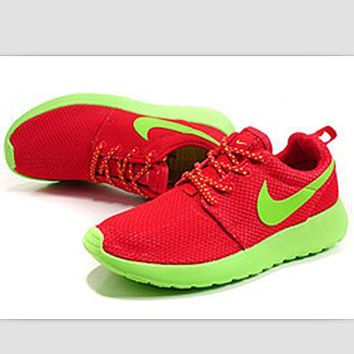 """""""NIKE"""" roshe Trending Fashion Casual Sports A Simple yet Powerful Style Nike Shoes Red"""