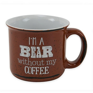"Boston Warehouse ""I'm a Bear without my Coffee"" Mug"