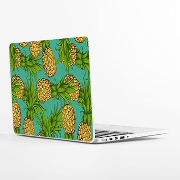 Crazy Pineapples Laptop Skin