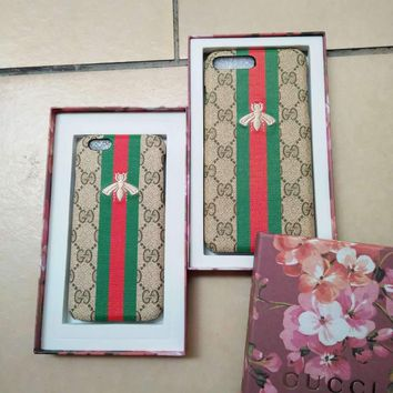GUCCI Embroidery Hard shell iphone 6s protective phone case G