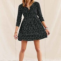 One & Only X Urban Renewal Polka Dot Dress - Black