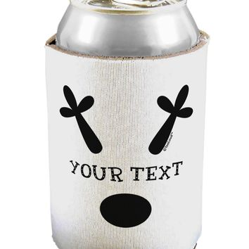 Personalized Matching Reindeer Family Design - Your Text Can / Bottle Insulator Coolers