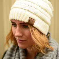 Best Ever Beanie- Ivory
