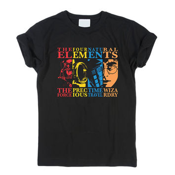 The Four Elements harry potter T-Shirt Men, Women and Youth size S-2XL