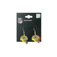 Green Bay Packers Helmet J-Hook Earrings